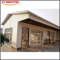 Luxury Modern Design Low cost small residential prefabricated houses india