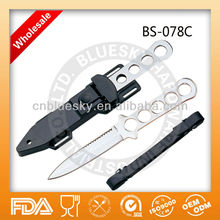 fixed blade knife dual sharp green river dive knife
