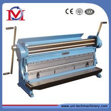 3 in 1 1067mm combination shear brake rolling machine