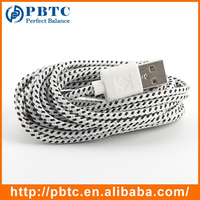 3M White Braided Usb Charging Cable For Iphone 4, iPAD , iPad 2