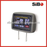 Headrest Android Taxi Ad Monitor with different mountings