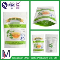 Easy tear mouth avaliable factory good and cheap laminated ziplock plastic packaging bag with tight zipper