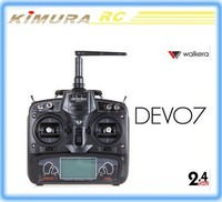Walkera Devo7 2.4Ghz 7CH LCD Screen RC radio control with RX701 & RX601receiver for walkera QR X350PRO rc drones quadcopter