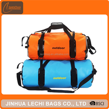 Waterproof 500D PVC tarpaulin men women big capacity travel dry bags