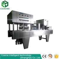 hot selling aluminium foil plastic cup sealing machine factory price