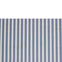 wholesale T/C 32*32 130*70 blue white stripe fabric of hospital bed sheet