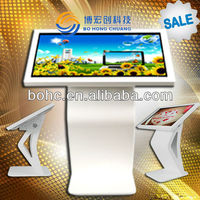 55 inch computer monitor Bohc touch screen kiosk lcd IR