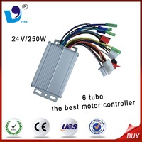 Variable Speed DC 24V Scooter Motor Controller 6 Tube