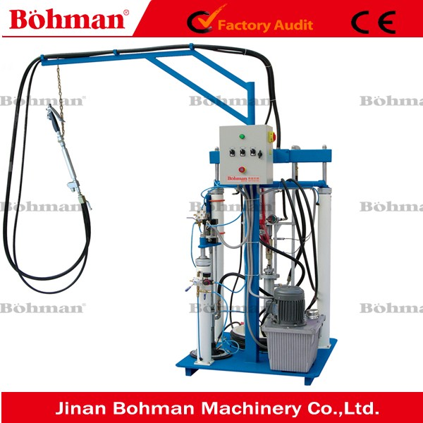 Insulating Glass Used Silicone Extruder Hot Melt Butyl Spray Machine