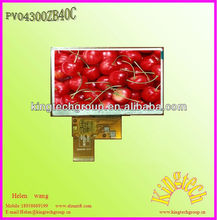 "Factory direct top quality compeitive price 4.3"" tft lcd module 480*272 touch screen"