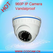 high quality dome mini dome 1.3 megapixel oem ip camera for digital video surveillance systems