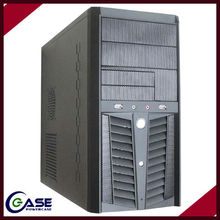 Dual Fans MicroATX Mini Tower Computer Case with USB 2.0 Cases