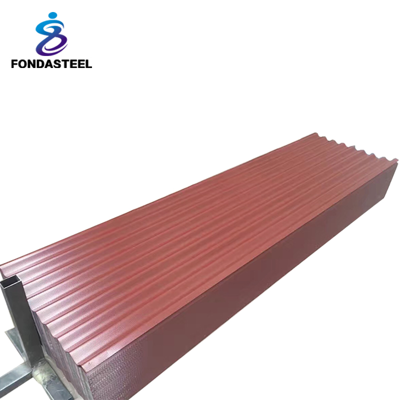 Long span Galvanized corrugated aluminium roofing sheet in price china