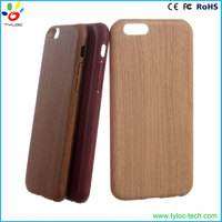 2016 Newest wooden cell phone case for iphone 6s, Imitation wood cover case