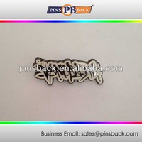 Hot sale zinc alloy Metal enamel Lapel Pin / Nameplates / pin badge making/ lapel pin with butterfly clutch