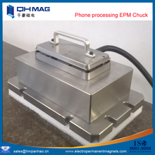 High precision electro permanent magnetic phone table for cell phone processing magnets