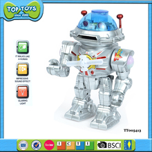 bo robot man battery operated toy music light toys for kids children