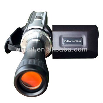 "3.0"" TFT LCD Telescope Digital Video camera with Remote Control DV-668T"