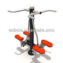 the newest universal green outdoor strength training fitness /gym equipment double stepper machine