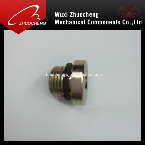 hex socket cap screw with washer