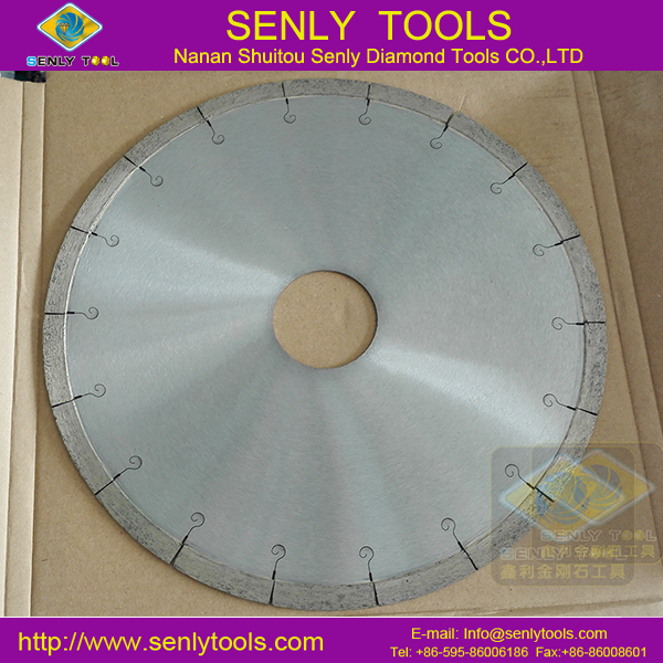 Professional 250mm tile cutter diamond saw blade for tile cutting