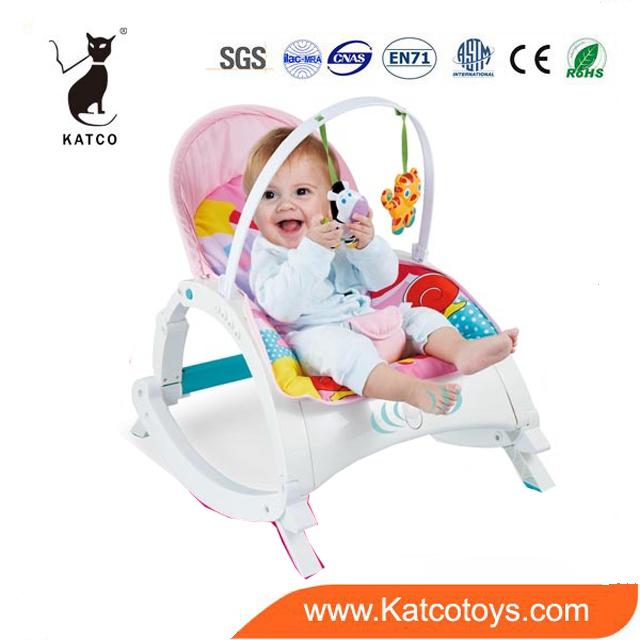 Hot Selling Baby Chair Multi-Function Kids Rocking Chair With Hanging Rattle Toys