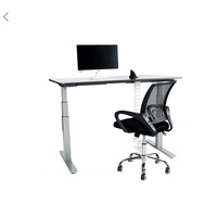 1000N load office tdesk electric height adjustable table , motorized adjustable height table legs