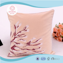 2017 New digital printing and embroidered cushion for home decoration