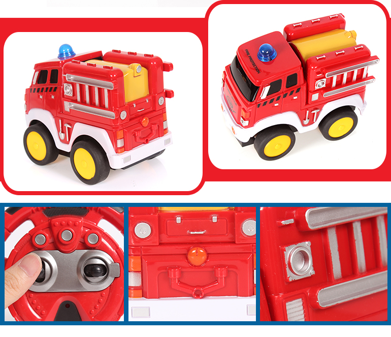 Hot selling radio control car fighting rc fire truck toy for kids