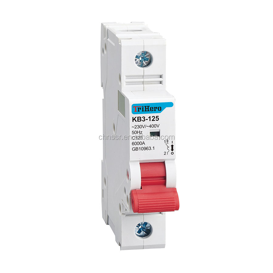 Wholesale Wenzhou Mcb Online Buy Best From China Dz47 100a Miniature Circuit Breaker Electronic And Digital 80a 125a 10ka Strongmcb