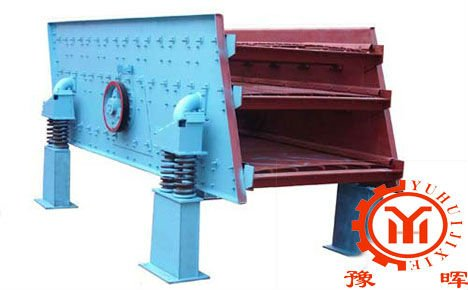 Yuhui linear vibrating screen for stone classification of China supplier