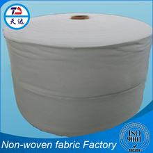 Advanced Finishing Process 100% Polyester Hygiene Material Non Woven Polypropylene Fabric