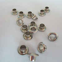 Wholesale Custom Size Golden Color Metal Grommets For Handbags