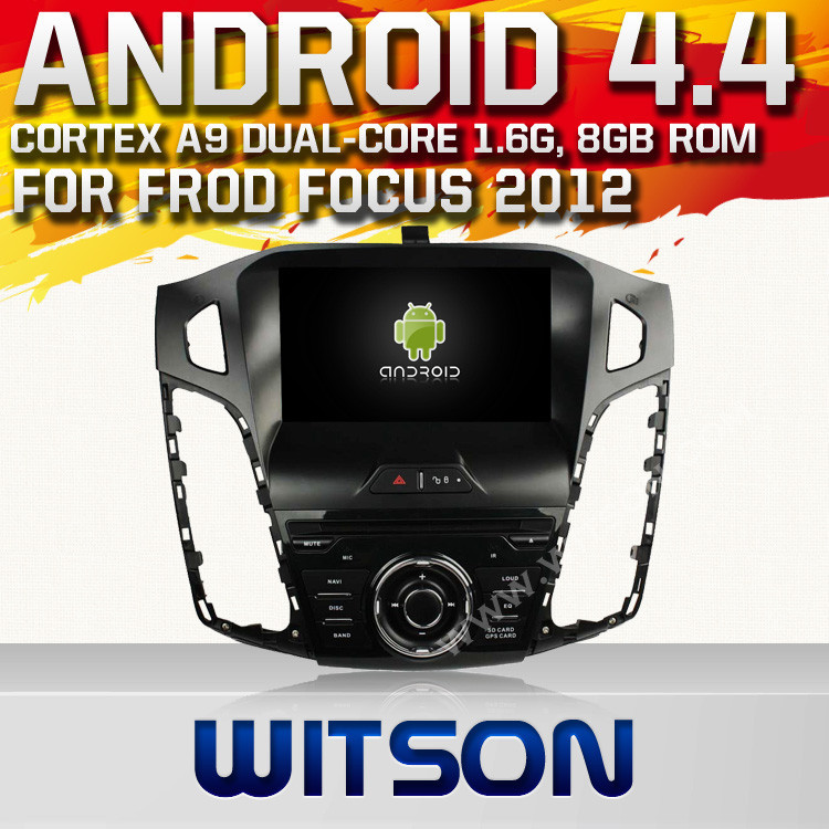 WITSON ANDROID 4.4 CAR AUDIO FOR FORD FOCUS WITH A8 DUAL CORE CHIPSET DVR SUPPORT WIFI 3G APE MUSIC BACK VIEW