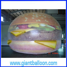 inflatable large helium hamburger balloon