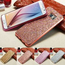 For Samsung S8 S7 S6 Note 8 Luxury Glitter Bling Silicone Case For Samsung Galaxy S4 S5 S6 S7 Edge S8 A5 A3 2016 J3 J5 J7 2017