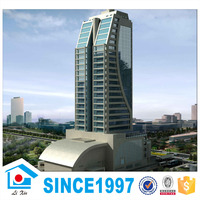 High Rise Structure Pre Engineered Steel Buildings For Hotel