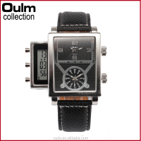 digital multi time watch manufactures wholesale unique wrist watch for men