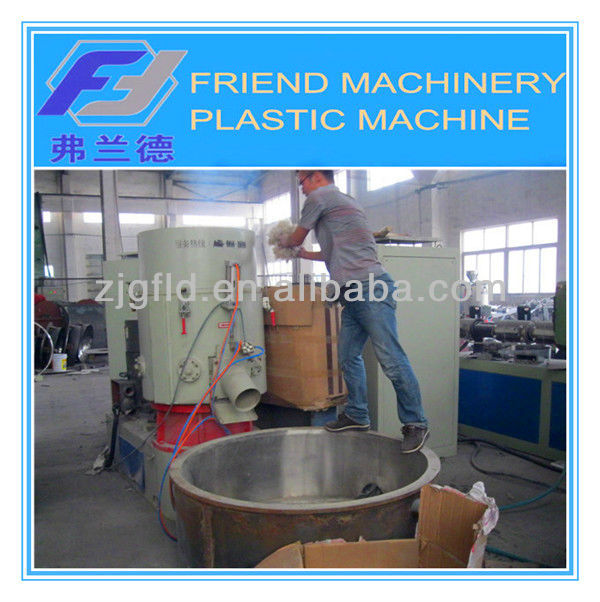 plastic film agglomeration machine