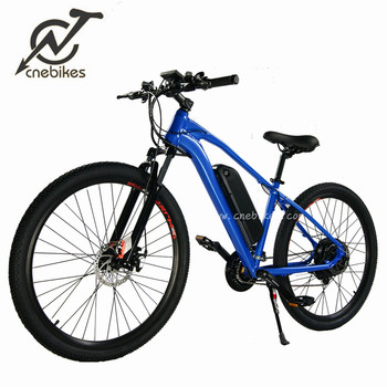 high speed 500w electric mountain bike with two colors available