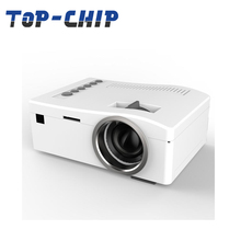 Hot, cheap home, outdoor school, office education, mini LED, 1080p 3d led projector with batteries UC18