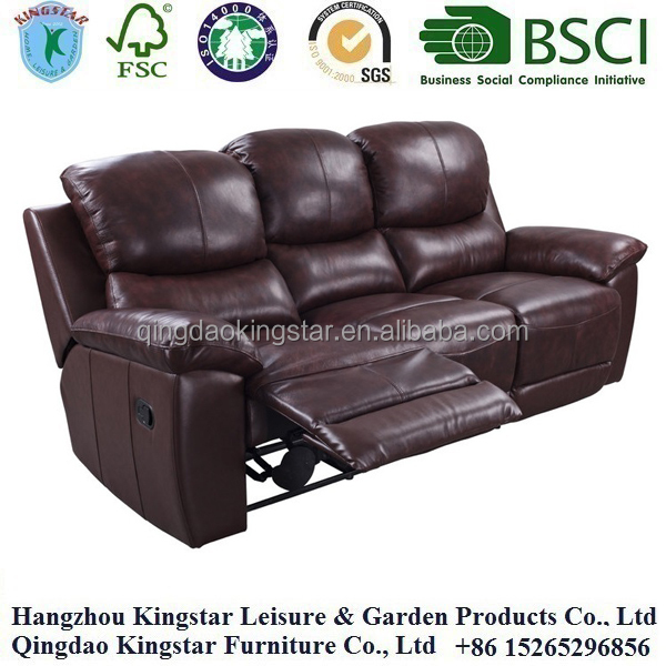 leather fabric recliner <strong>sofa</strong>