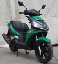 2016 Europe Market Cheap CDI Black/Green 125CC Gas Cool Mini motorcycle