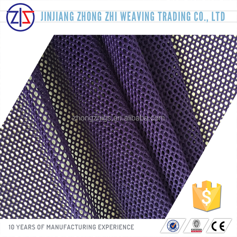 Colorful Open Non-Stretch Polyester Mesh and Fabric