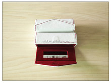 PU leather lipstick case with mirror