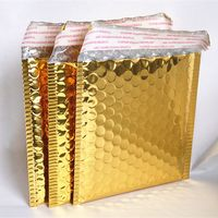 customized printed bubble mailers custom envelopes/A4 gold decorative envelopes