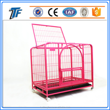 ISO 9001 large steel dog kennels two doors for sale