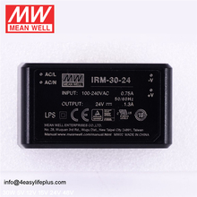 Meanwell 30W Miniature AC-DC Module-Type DC24V Power Supply IRM-30-24