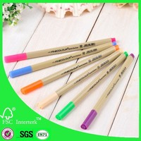 Multi color triangle water bleedproof fineliner 48 vivid colours