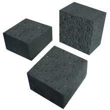 Cube type Black White ash good hardness Charcoal Brequettes